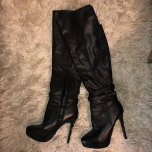 Aldo Knee high heeled boots